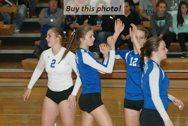 Step I: Jaguars volleyball pummels Falcons