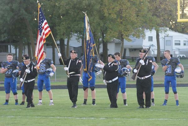 BBE football v. Parkers Prairie 09-29