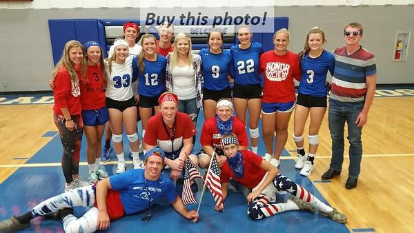 BBE volleyball v. HLWW 09-07