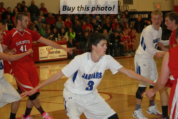 BBE boys' basketball at KMS