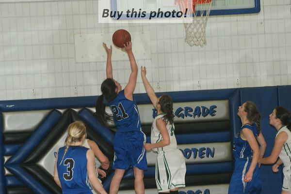 B-B-E girls' basketball vs. Paynesville 02-15