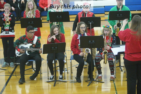 BBE high school Christmas concert 12-18