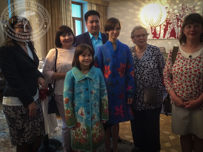"Guests in the Ambassador's Residence as part of ""The Linnaeus Apostles Bridge Builder Expeditions - Sweden, Kazakhstan, Kyrgyzstan & Russia. Including Launch of The Explorer's Field Guide""."