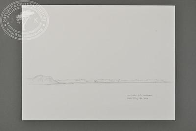 1300 meter west of Midtøya (A), Svalbard | 10.9.2016. | Måns Sjöberg.