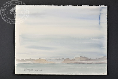 """View from Bellpynten, Svalbard 