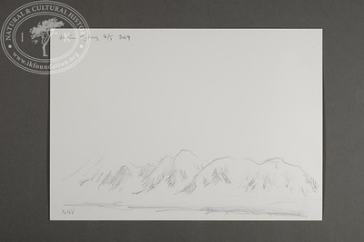 """NNW view from the site of the Field Station at Prins Karls Forland 