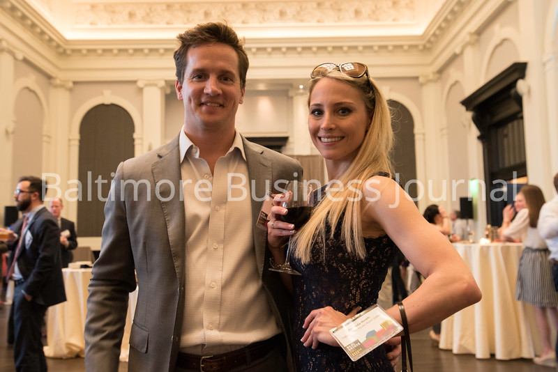 Ryan Burrows Of JLL U0026 Amanda Heath Of Jaguar Land Hunt Valley, At The BBJ