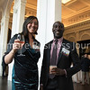 Claudia Freeland Jolin & Davon Barbour of Baltimore Downtown Partnership at the BBJ RE Broker Bash at the Sagamore Pendry on Thursday, April 27