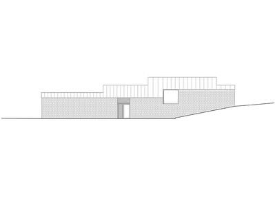 Plan 08 Doppelkindergarten Rüti - Ansicht Süd 1:200