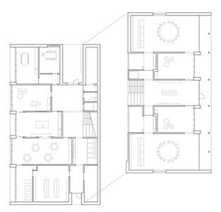 Plan 02 Doppelkindergarten Rüti - Grundriss 1:200