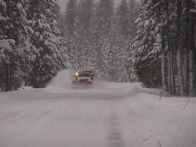 Snowplow long view