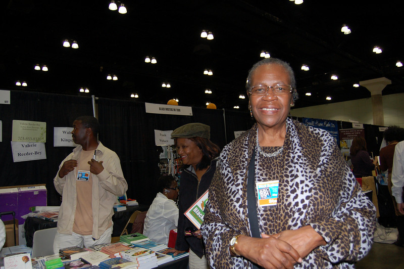 Dr. Rosie Milligan is conducting Black Writers on Tour in collaboration with the Expo.  <br /> <br /> Photo by Isidra Person-Lynn