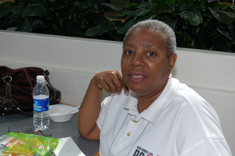 Ruth Williams, Administrative Executive and Office Manager. Has been with the Expo the entire 20 years. <br /> <br /> Photo by Isidra Person-Lynn