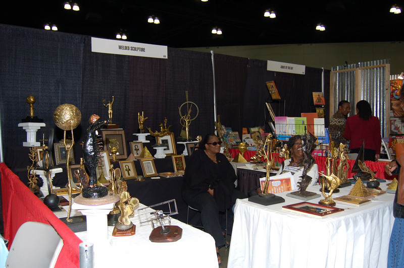 Mr. Bill Paige is an ardent supporter of the Expo. <br /> <br /> Photo by Isidra Person-Lynn