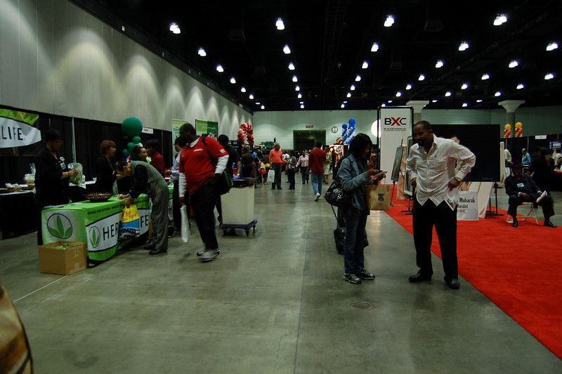 More streamlined, the 2009 Black Business Expo is full of great buys, great contacts, and great performances.  Checkout the Health Pavilion Stage and the Gospel Stage.  Just follow the music! <br /> <br /> Photo by Isidra Person-Lynn