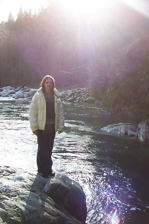 <b>Feb. '07: Lynn Canyon with G-Lo</b>