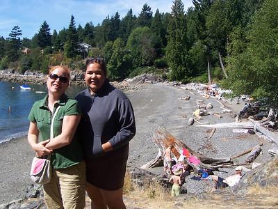 <b>Aug. '06:  Bowen Island Getaway with Danno</b>