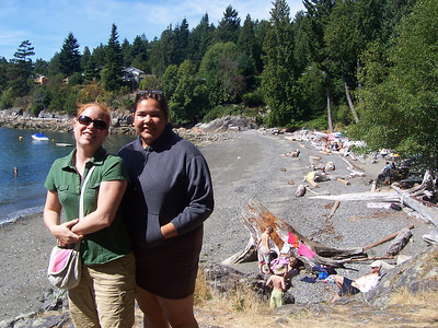 <b>Aug. '06:  Bowen Island Getaway with Danno</b>