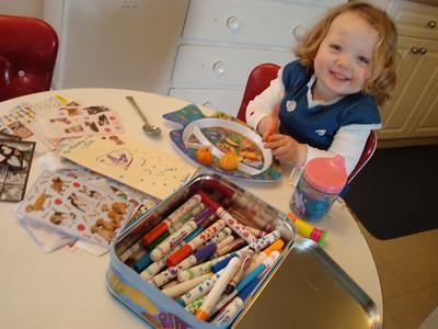 <b>Jan. '09: My Morning with Robyn, age 2.5</b>