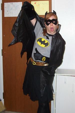 <b>Oct. '06: Halloween: BATGIRL (and Baby Robyn)!</b>