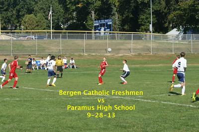 BC Freshmen vs Paramus HS