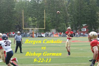 BC vs Bishop Gorman 9-21-13