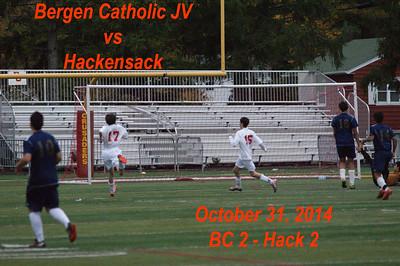 BC JV vs Hackensack 10-31-14