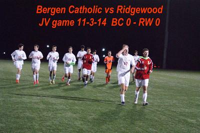 BC vs Ridgewood JV 11-3-14