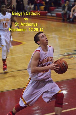 BC vs St Anthony's Freshmen Basketball 12-29-14