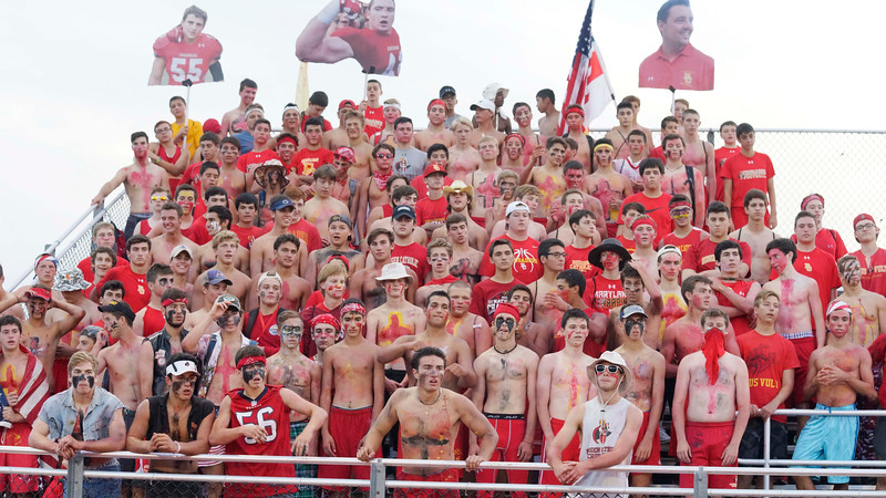 The Crazies were in full Crazy Mode for the season opener