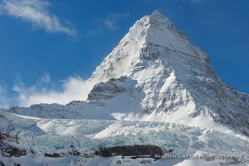 Glacier and Mount Assiniboine