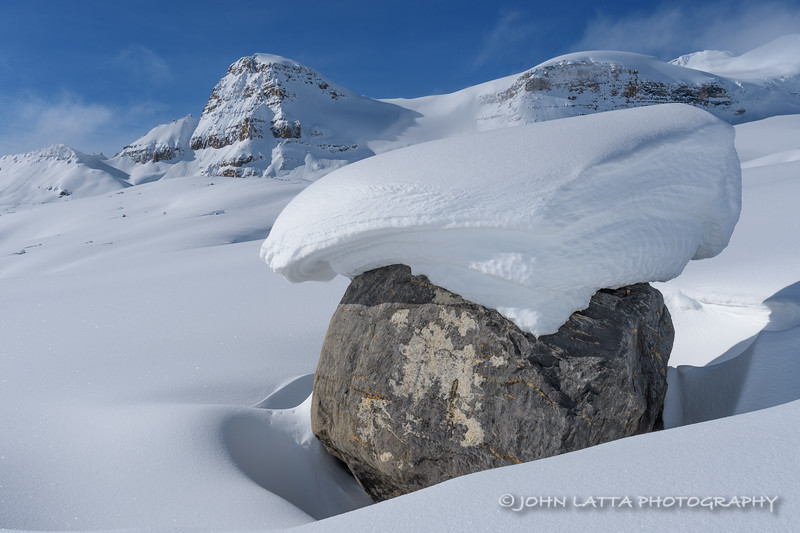 Glacial Erratic and Isolated Peak
