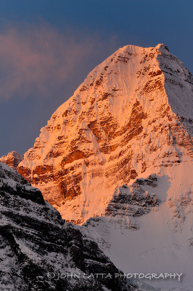 Mount Assiniboine Alpenglow