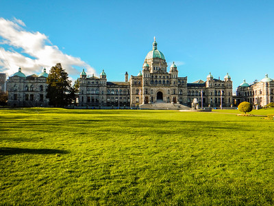The BC Legislature, Victoria