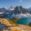 Mount Assinibione Massif