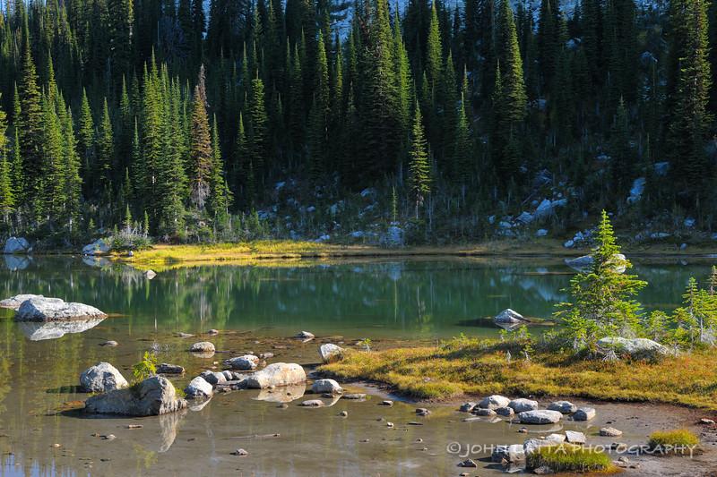 Shadows on Drinnon Lake