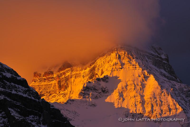 Storm Light on Mount Assiniboine