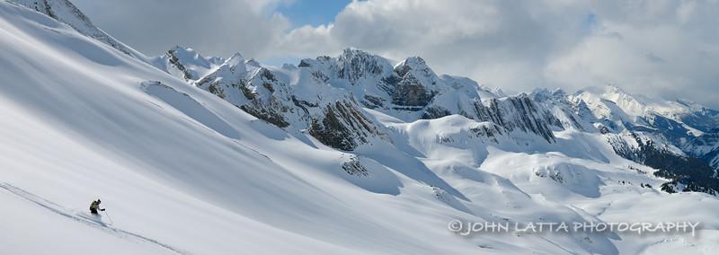 Skiing the Wildcat Glacier