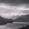 Rainstorm Approaching Trout Lake