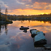 Price Lake Sunrise Reflection
