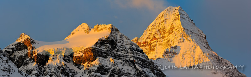 Mount Magog and Mount Assiniboine