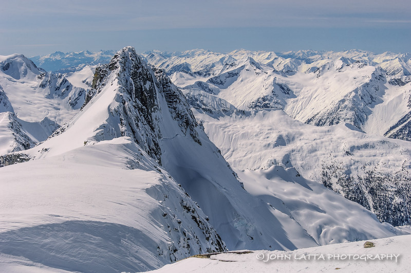 Mount Ahab  and Selkirks
