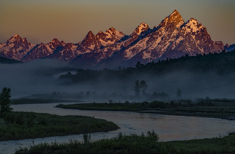 110 Max Burke 1 First Light in the Tetons