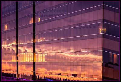 102 Rick Ohnsman 2 City Sunset Reflection-2