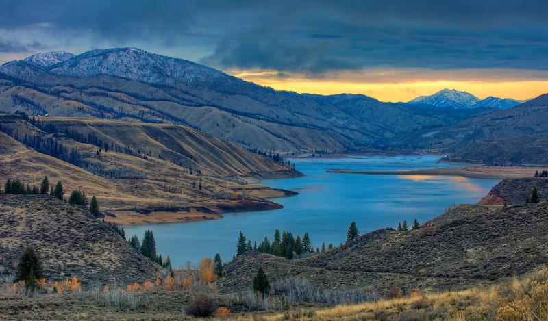 Greg Stringham 1 Fall on Anderson Ranch Reservoir