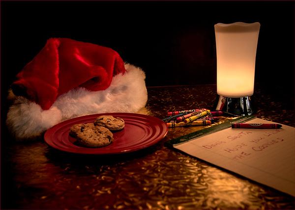 008 Ken Wilkes 2 Cookies for Santa AS