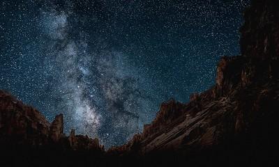 105 Ken Wilkes 1 Leslie Gulch Milky Way 1