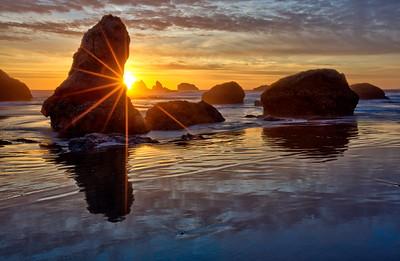 Greg Stringham 2 Sunburst on Facerock Beach