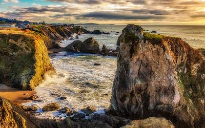 Ernest Shook 1  Coastal Sunset