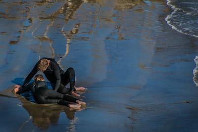 104 ElaineSoule 1 Ballet OnThe Beach